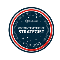 MindTouch Top 200 Content Experience Strategist for 2017