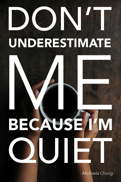 Don't Underestimate Me!