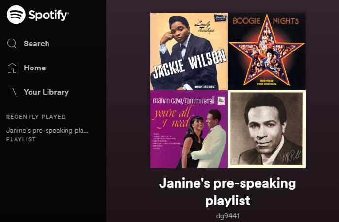 Janine's Playlist